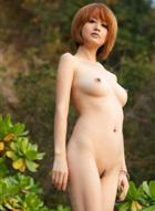 丽图模特色影机人体摄影yumi-4