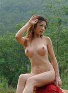 丽图人体模特毓惠・莫品香外景摄影-18