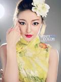 别有时尚风味的中国旗袍美女