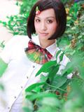 经典摄影:清纯纯涩女孩