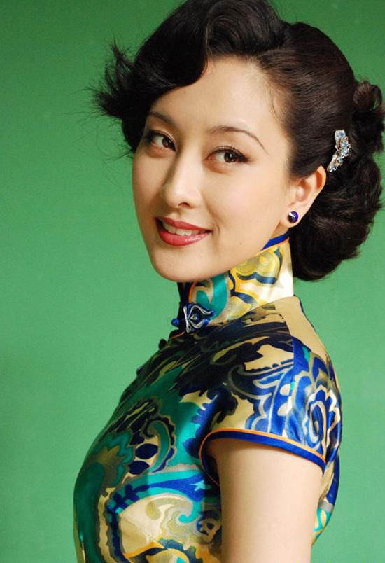 演员马苏的旗袍摄影